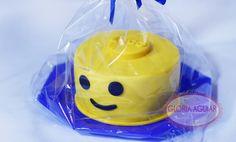 mini bolo, lego, smile, menino, bolo, cake