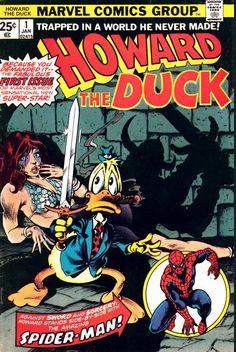 COMIC_howard_the_duck_01 #comic #cover #art