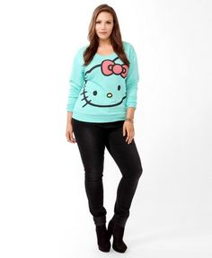 Hello Kitty® Face Pullover | FOREVER 21 - 2040495094 need asap