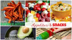 Snack time recipes!