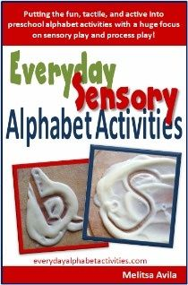 Sensory play activities ebook so your children can play creatively without thinking they are working on play- Written for active kids