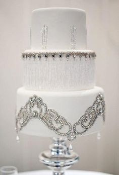 Wedding Cakes that Sparkle by Cindy_Anzevino