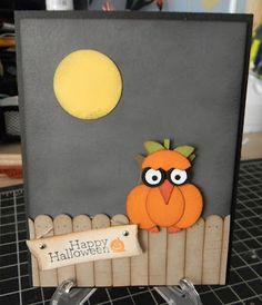 Ruth's Stamping Corner: Halloween Pumpkin, errr I Mean Owl!