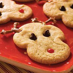 Sugar Cookie Reindeer
