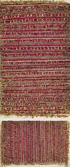 Africa   Woman's shawl ~ Handira ~ from Zemmour, Middle Atlas region   Cotton and silk   Mid 20th century