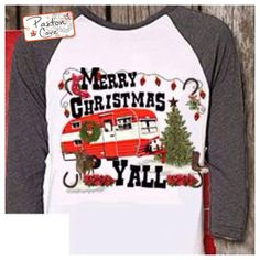 $35 Christmas Camper Shirt » Paxton Cove - Daily Boutique Deals