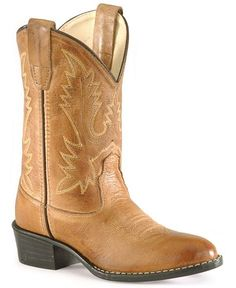 cowgirl boots, cowboy boots, style, round toe, calfskin cowboy, children, toes, kid stuff, corona calfskin