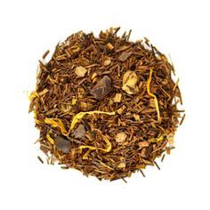White Chocolate Souffle Rooibos tea White chocolate, hazelnut and a hint of mint. Perfectly light and sweet.