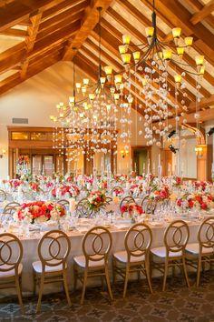 Gorgeous wedding reception decorations - Photography: Stephanie Pool