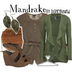 Mandrake, created by #lalakay on polyvore.com