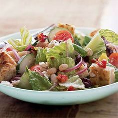 Brighten up your plate with this Pizza Panzanella #Salad | health.com