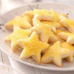 Lemon Stars Recipe from Taste of Home -- shared by Jacqueline Hill of Sandusky, Ohio