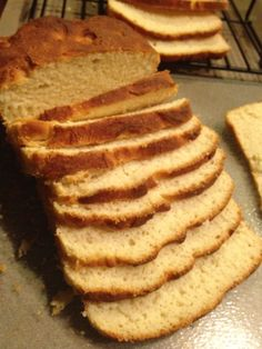Gluten-wheat-soy-nut-dairy-egg free bread that is soft enough for kids with allergies to eat.