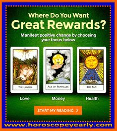 Where do you want the greatest rewards? There are some events in life that we have no control over and there are some others over which we can exercise some degree of influence by using our Free will. I can tell you what lies ahead and show you how to use this effectively to improve your quality of life. With a knowledge of astrology, you can know the good and not so good trends for Love ...Start your reading now: http://www.horoscopeyearly.com/susan-miller-monthly-love-horoscope/