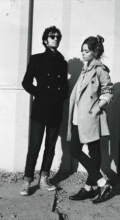 Fabrizio Moretti and Binki Shapiro.