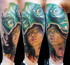 Artista: Pawel Gowkowski #tattoo #tatuagem #tattooplace #inked #tattooplace www.tattooplace.com.br