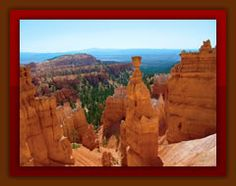 Descend into the Bryce Canyon on horseback.