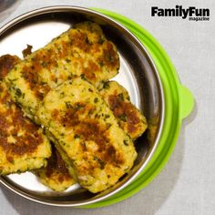 Veggie Nuggets: Offering the flavors of falafel, these dunkable mini ...