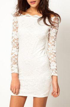 Little lace dresses.