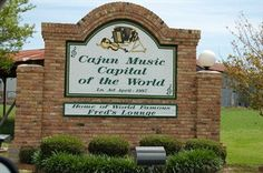 Mamou, La. Cajun Music Capital of the World.
