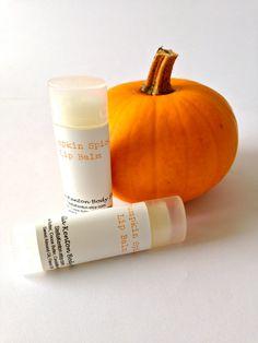 Pumpkin Lip Balm #pumpkin