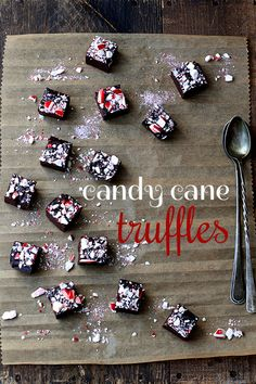 candy cane truffles.