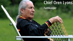 Faith keeper of the Turtle Clan of the Onondaga and Seneca Nations of the Iroquois Confederacy.