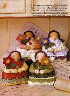 Craft hermosa: muñecas de trapo