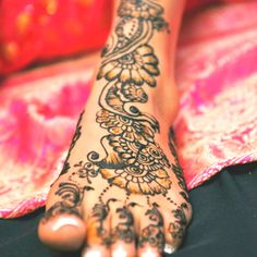 Henna Art from Canada henna art, henna design, henna feet, henna mehndi