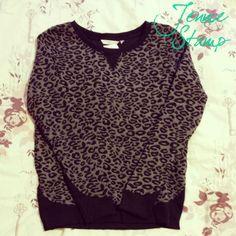 Leopard print New Look Sweatshirt anim print, leopard prints