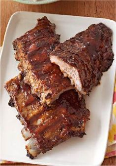 Oven BBQ Ribs – There are many reasons to like these Oven BBQ Ribs. But here's another one: They're a ridiculously easy way to please a crowd.