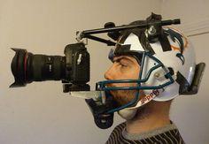 Homemade Football Helmet Camera Rig