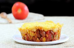 Copycat Amy's Mexican Tamale Pies- easy to make, and completely meat-free!
