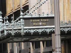 Union Trust Building entrance