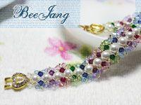 bead_tutorial: [Tutorial] Crystal Bracelet #14