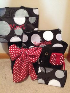"Thirty-One bags, Disney-style...love the one that says ""Mouseketools""!! http://www.mythirtyone.com/KathleenGurklies/"