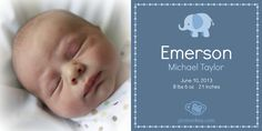 Ohhh baby! Announce your new one with PicMonkey's photo effects and overlays. This little one is using the Frost effect for a soft border. You can find the elephant in the Cutimals overlays and the border in the Flourishes overlays.
