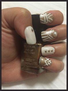The Great Gatsby nail art