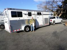 Thank you to Charles Grossman of Keswick, Virginia on the purchase of his new 2014 4-Star 2+1 GN Trailer from Jim at LA Trailer Sales LLC!! And thank you from LA and 4-Star Trailers, Inc. for being a repeat 4-Star customer!! (800) 350-0358