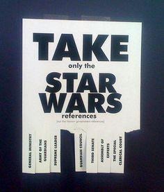 Star Wars nerd flyer