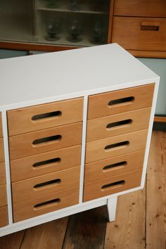 White Chest of Drawers by Esavian UK