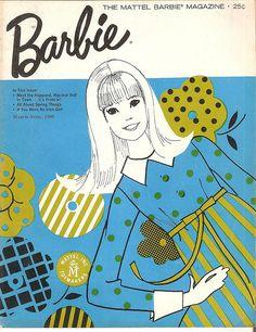 Vintage Mod Barbie Magazine