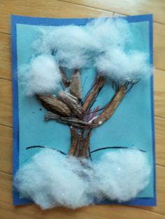 Winter tree-preschool project