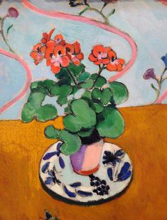 Geraniums by Henri Matisse.