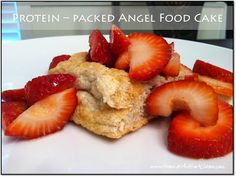 protein packed angel food cake