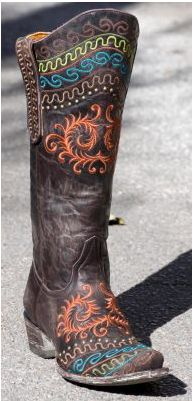 rugged, not typical cowboy boots