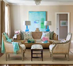 living room | Tobi Fairley Interior Design