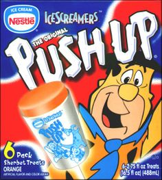 Flintstones push up popsicles