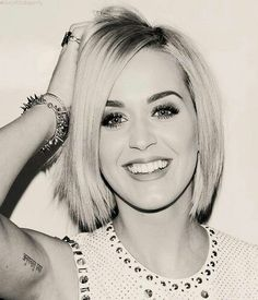 Katy perry with short hair