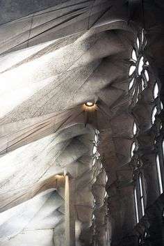 La Sagrada Familia. Gaudi. Barcelona, Spain. 1882- Building still under construction. Completion ETA: 2026